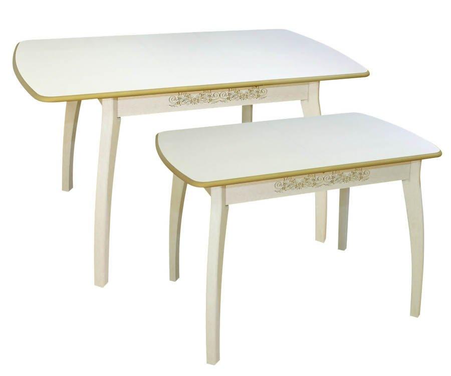 Столы для кухни патина